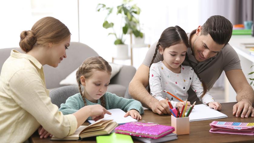 Cinco consejos para ayudar a nuestros hijos con el estudio en casa