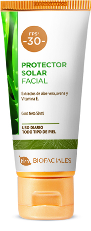 Protector solar Blen, ¡ideal para el verano!