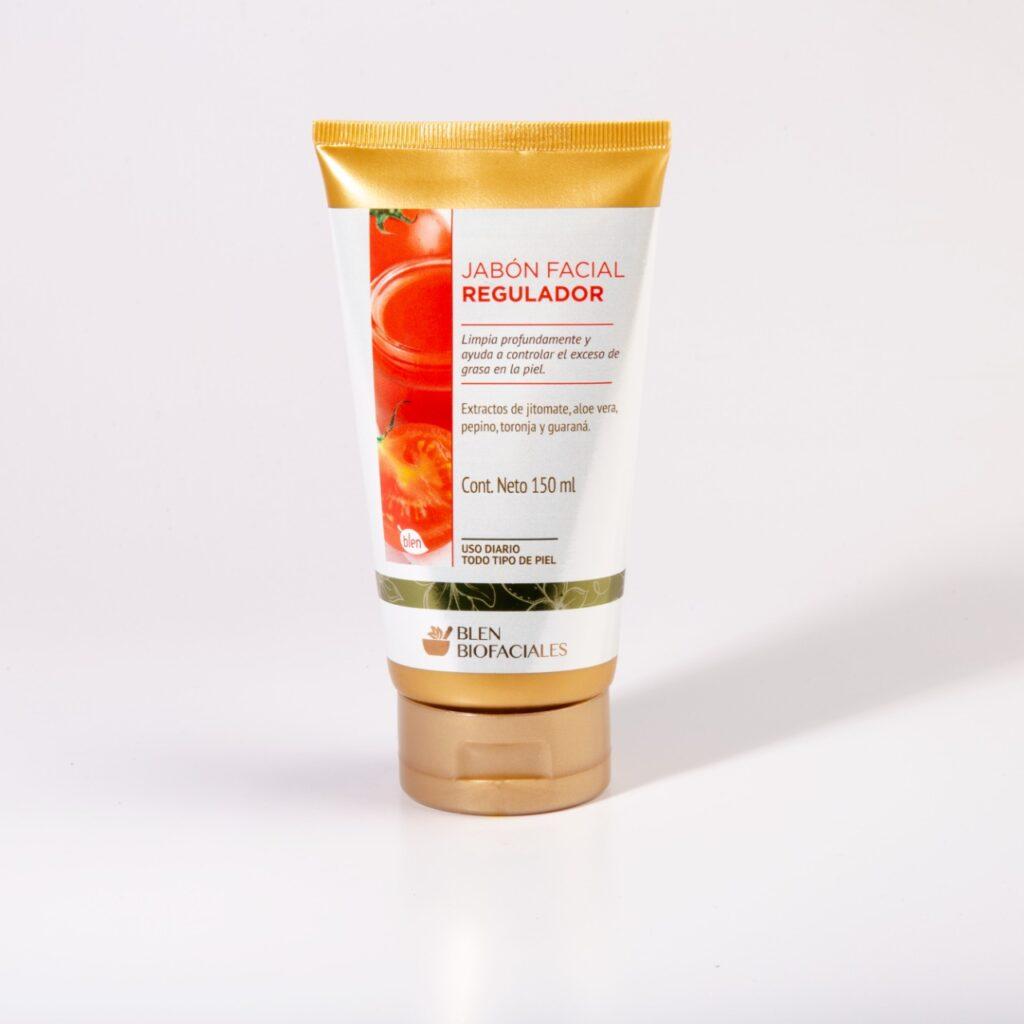 Jabón facial regulador para piel grasa